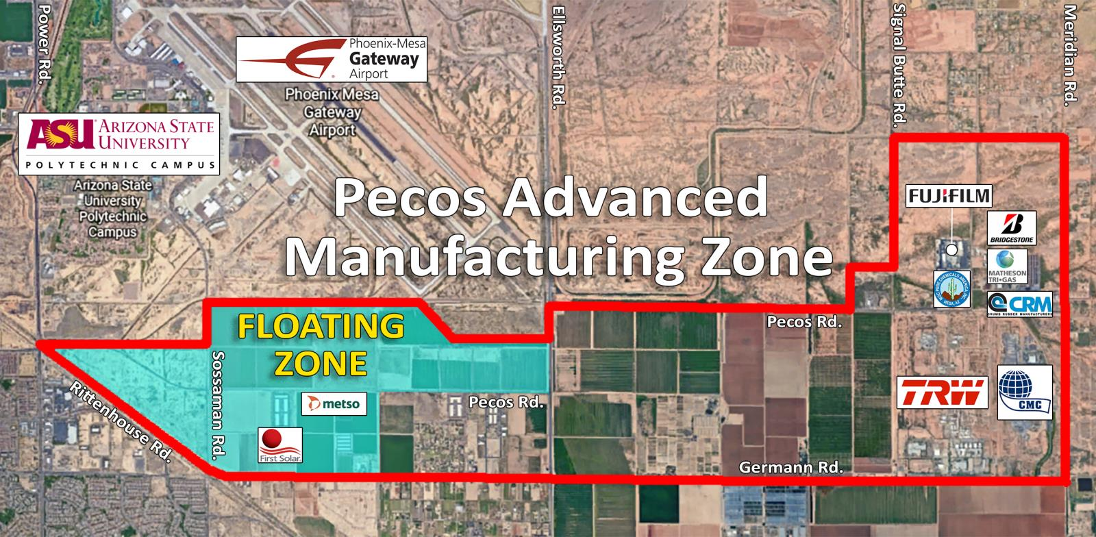 Pecos Advanced Manufacturing Zone | City of Mesa
