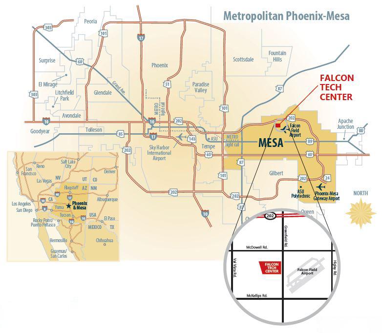 Falcon Tech Center   City of Mesa