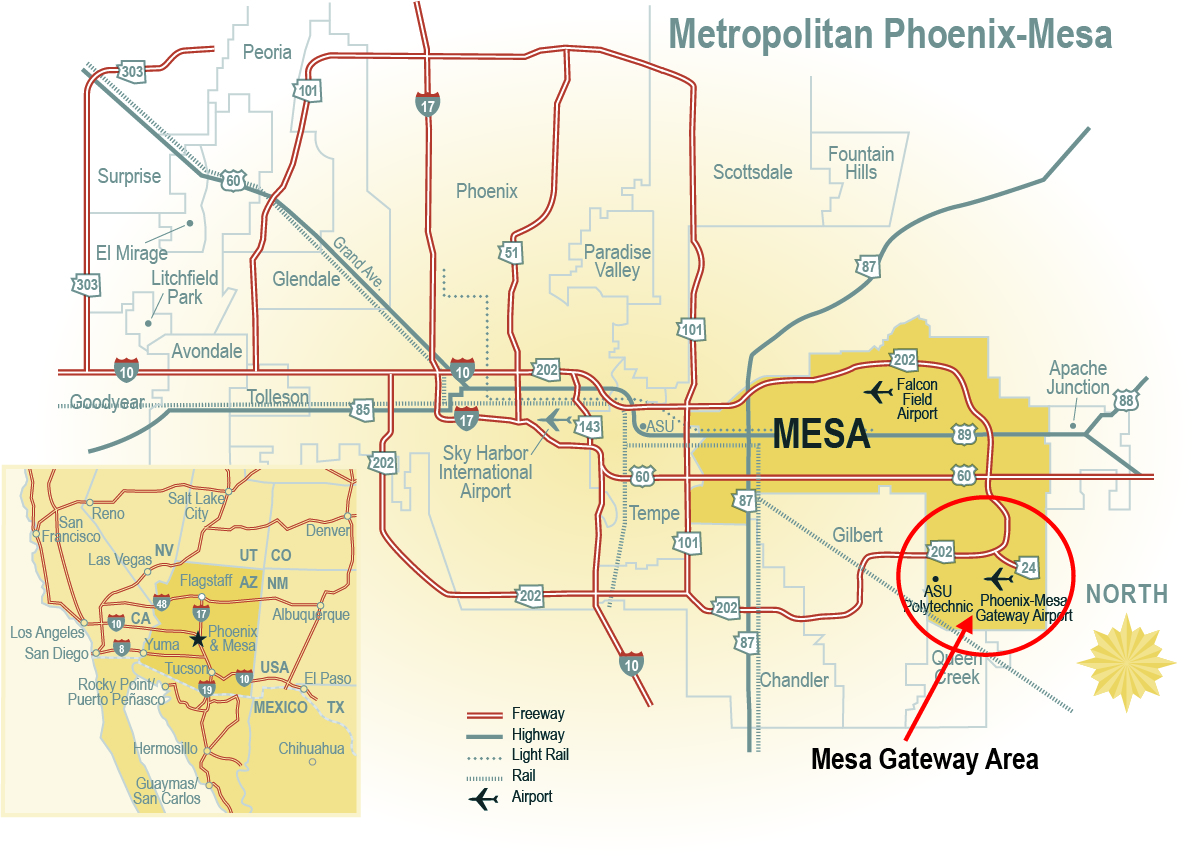 Mesa Gateway Area | City of Mesa